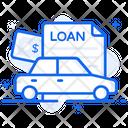 Car Loan Vehicle Loan Auto Loan Icon