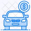 Car Loan Car Debt Automobile Loan Icon