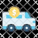 Car Loan Car Money Coin Icon