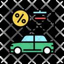 Car Loan Car Buy Icon