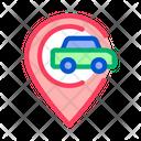 Map Car Gps Icon