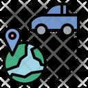Car Globalization Gps Icon