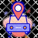 Car Location Map Car Icon