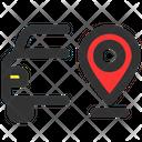 Car Location Car Location Icon