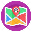Car Location Cab Location Car Navigation Icon