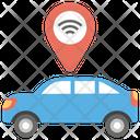 Car Location tracker Icon