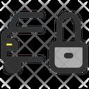 Car Lock Car Key Automobile Key Icon