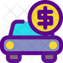 Car Banking Economy Icon