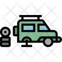 Maintenance Vehicle Garage Icon