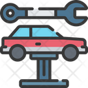 Car Maintenance Mechanic Icon