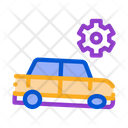 Car Gear Equipment Icon