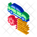 Car Feature Gear Icon