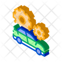 Gear Car Restoration Icon
