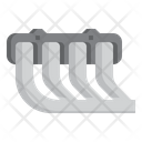 Iexhaust Manifold Vehicle Icon