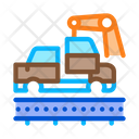 Car Manufacturing Process Icon
