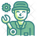 Car Mechanic Mechanic Worker Icon