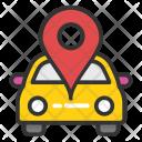 Car Navigation Location Icon