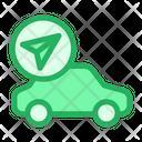 Car Navigation Icon