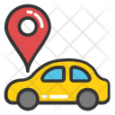 Car Navigation Icon