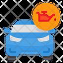 Car Oil Pressure Icon