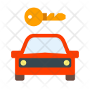 Car on rent Icon