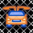 Electro Car Opened Icon