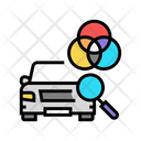Car Paint Match Icon