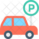 Parking Road Sign Icon