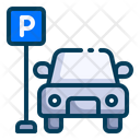 Car Parking Icon