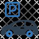 Auto Car Parking Icon