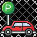 Car Parking Parking Car Garage Icon