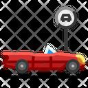 Car Parking Transport Icon