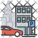 Parking Auto City Icon