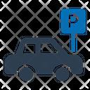 Car Drive Lot Icon
