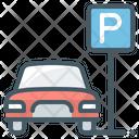Parking Car Vehicle Icon