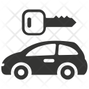 Car Parking Rental Icon