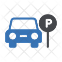 Car Parking Vehicle Icon