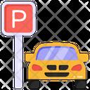 Parking Roadboard Parking Car Parking Icon