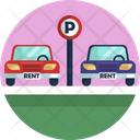 Car Parking Parking Car For Hire Icon