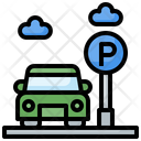 Car Parking Parking Board Cars Icon