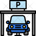 Parking Garage Car Icon