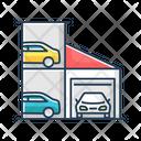 Car Parking Lot Icon