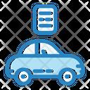 Car Passport Icon