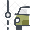 Car Path Icon
