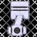 Piston Car Plunger Car Piston Icon