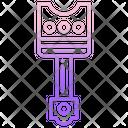 Car Piston Piston Automobile Icon