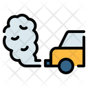 Car Pollution Smoke Icon