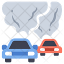 Pollution Car Vehicle Icon