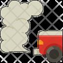 Car Pollution Pollution Car Icon