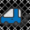 Car Pollution Car Pollution Icon